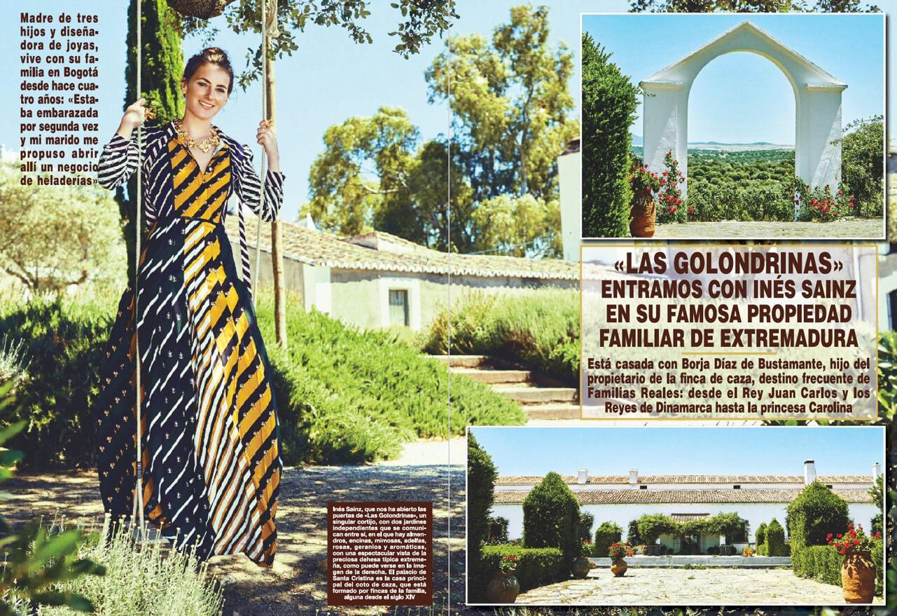 Revista_Hola_Spain_ines_sainz_0