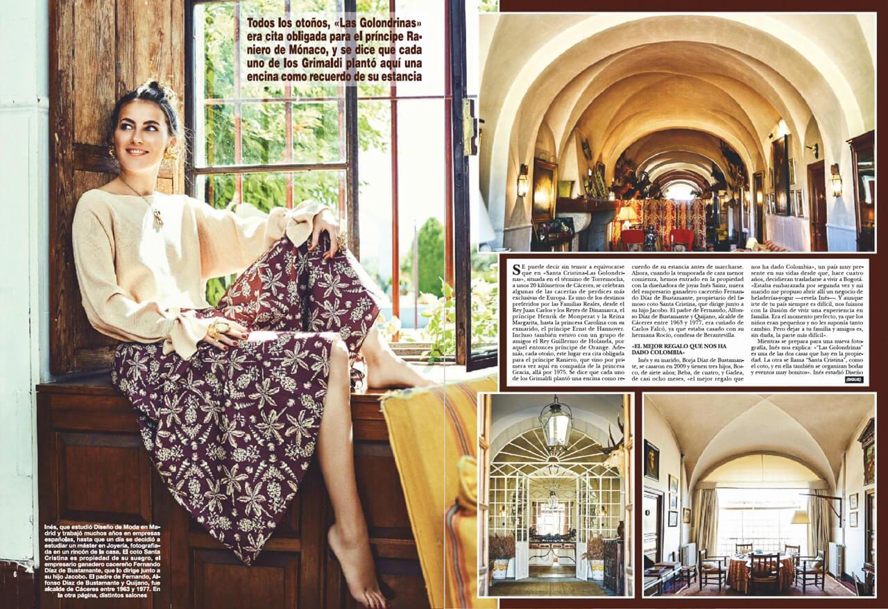Revista_Hola_Spain_ines_sainz_2