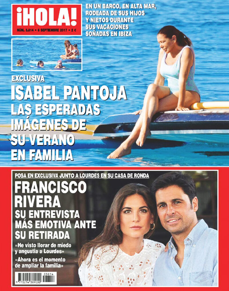Revista_Hola_Spain_ines_sainz_cover